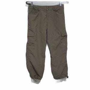 The North Face Khaki Tan Brown Capri Hiking Pants